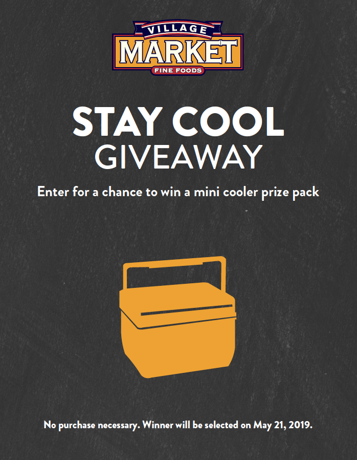 Village Market Mini Cooler Prize Pack Giveaway